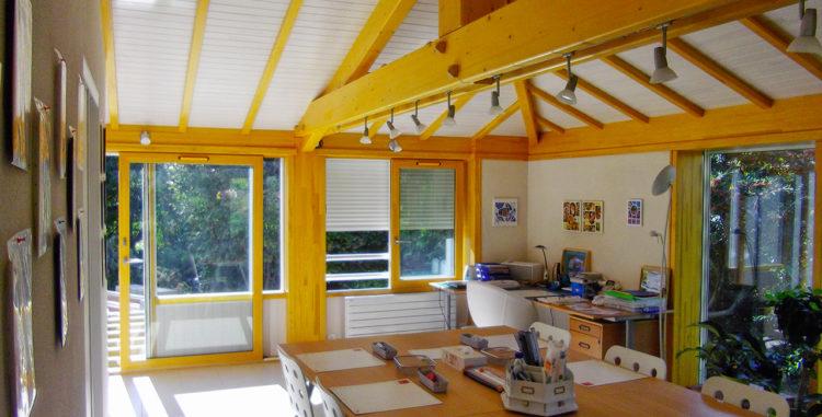 Aménagement atelier de peinture