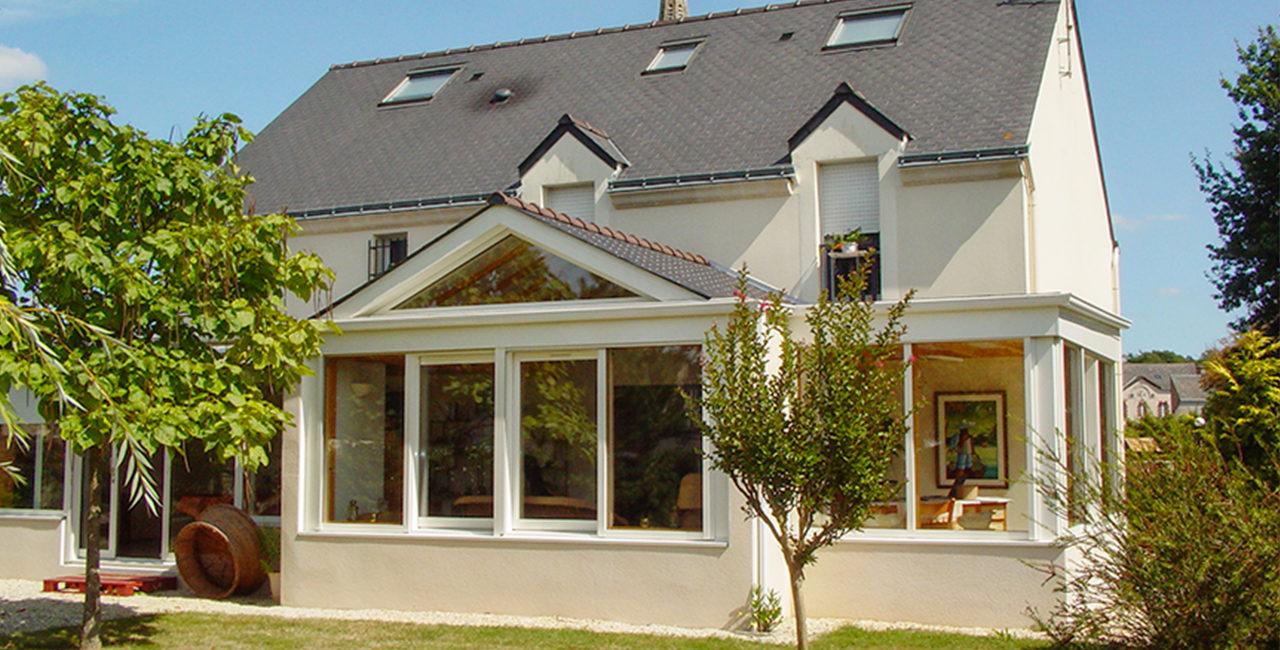 Une extension, deux toitures terrasses